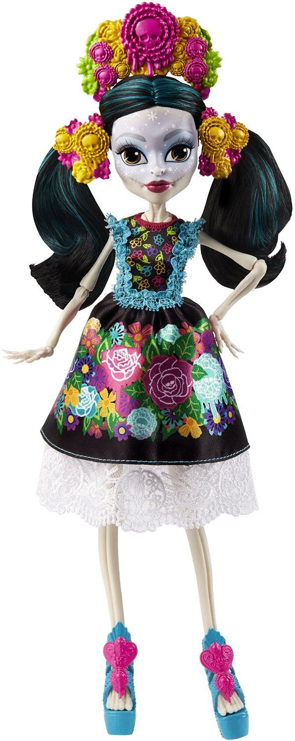Skelita Calaveras Collector's Edition Amazon Exclusive Monster High Doll ($30, Available in August 2016)