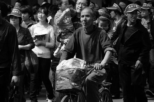 Human Flow (Beijing 1st May celebration)
