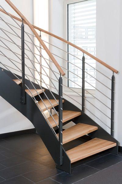 die besten 25 stahlwangentreppe ideen auf pinterest. Black Bedroom Furniture Sets. Home Design Ideas