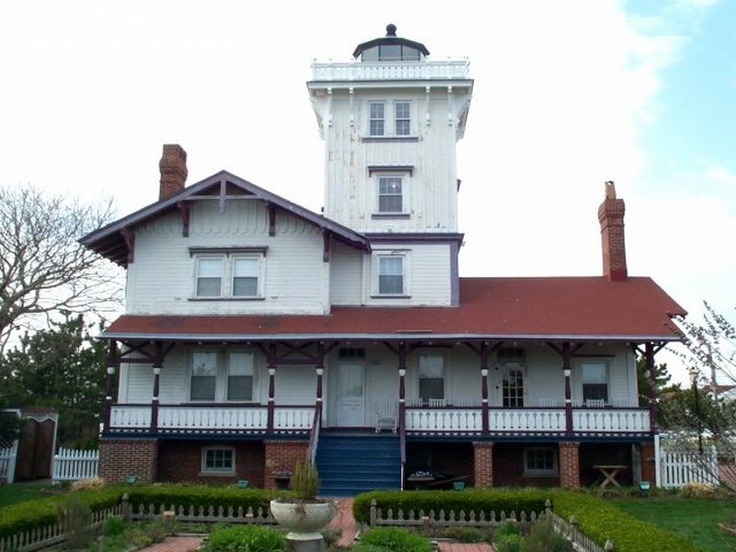 Hereford Inlet Lighthouse in North Wildwood, NJ