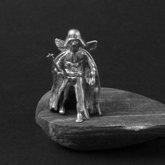 Darth Vader as an Angel by Varabin on Etsy