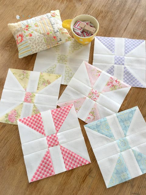 Carried Away Quilting: February Diamond Panes Blocks: Patchwork Quilt Alo...