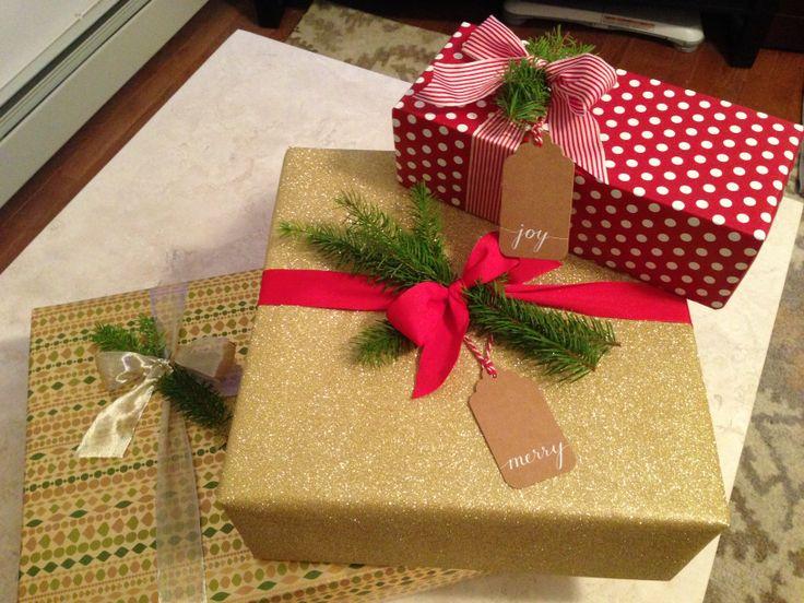 Christmas wrap! #crateandbarrel #papersource