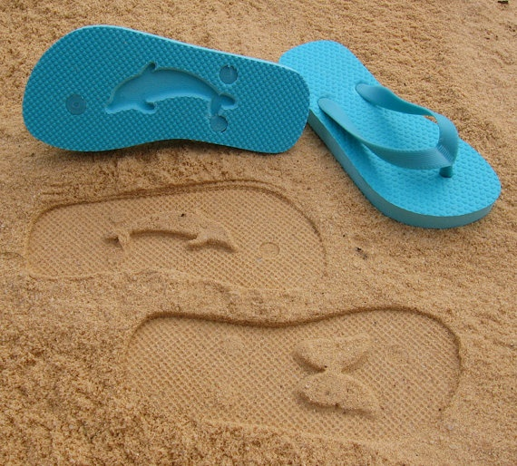 ACustom Sand Imprint Flip Flops   Just ordered some! Exactly as advertized and good quality Old Navy stock flip flop! VERY VERY HAPPY!