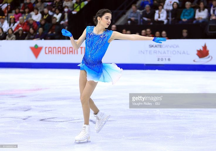 News Photo : Evgenia Medvedeva of Russia competes in the...