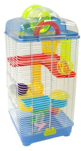 Translucent Color Top Cover Removable Ball 1 Dish, Drink bottle, House, Wheel, Platform and tubes