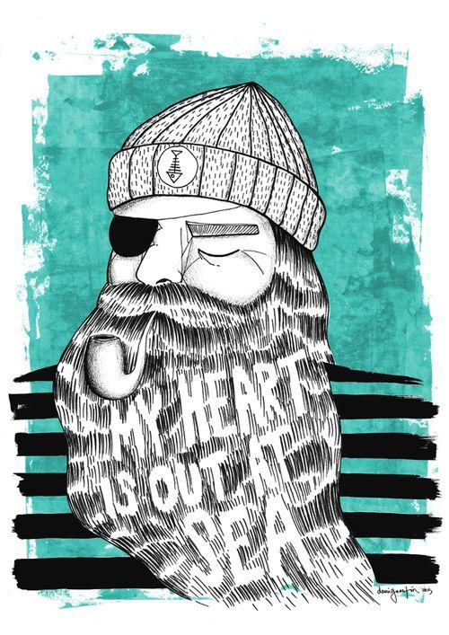 Say no more | Illustration by Daniela Garreton | via kindabreak.com