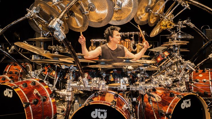 Featured drummer and percussionist, Terry Bozzio.
