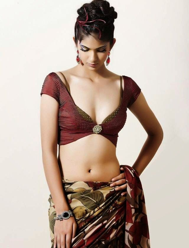 What are the some sexiest photo in saree ever