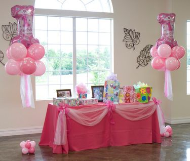 Kids Birthday Party Balloon Decorations by britney