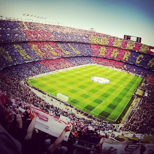 Camp Nou is the home of Barcelona and they have some passionate fans. I would love to enjoy a game there, especially El Clasico, a match against their bitter rivals, Real Madrid.