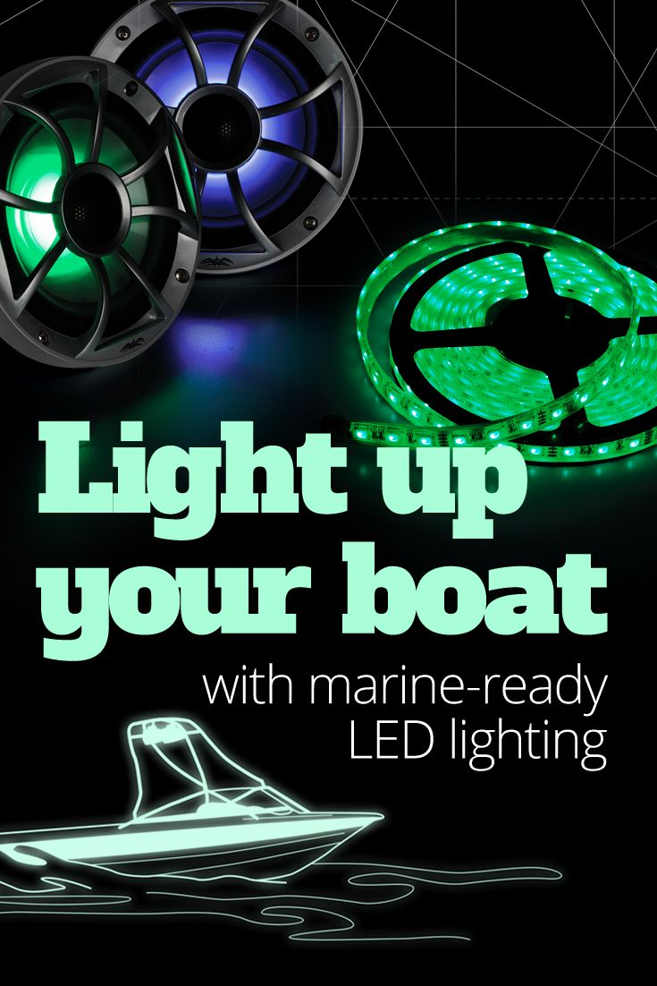 With brands like Kicker, MB Quart, Memphis Audio, and Wet Sounds we've got everything you need to for audio and visuals on your boat.
