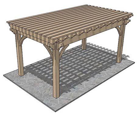 Wood Pergolas Kits are Easy to Assemble. Visit here http://www.mypergolakit.com