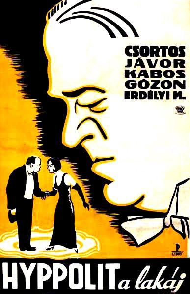 Hyppolit a lakáj filmplakát