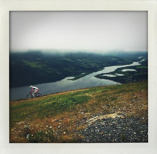 Downhill. Åre, Sweden.
