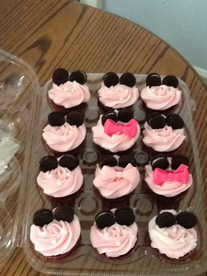 minnie mouse baby shower cupcakes cakes that i have done