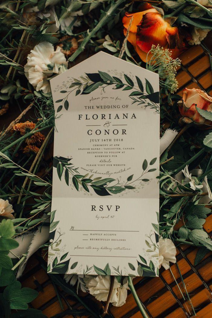 Rustic Vintage Weddings Baseball Party Invitation Design Bridesmaid Dresses Frozen In 2020 Botanical Wedding Elegant Wedding Invitations Botanical Wedding Invitations