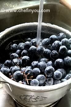 Concord Grapes Jam Recipe   Easy homemade No Pectin No Water Jam   Chef In You