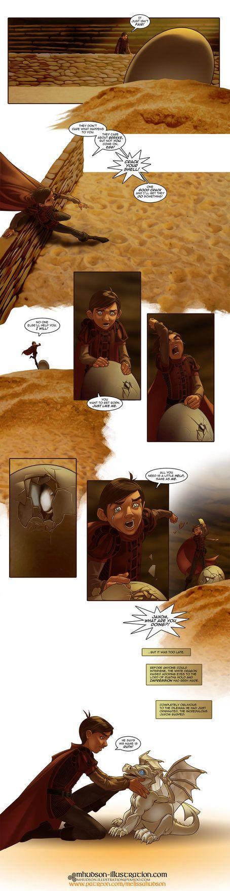 The Impression Dragonriders of Pern fancomic pg12 by MMHudson.deviantart.com on @DeviantArt