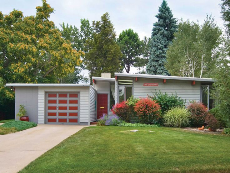 baby boomers and thirty somethings finally have something in commonthey both love mid century modern design boomers love it because of the adven - Mid Century Modern Home Exterior