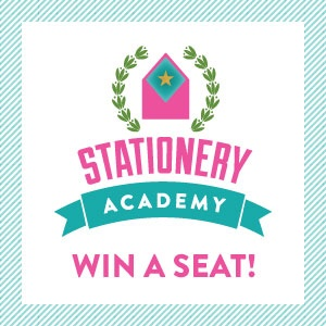 Win a seat to Stationery Academy 2013!