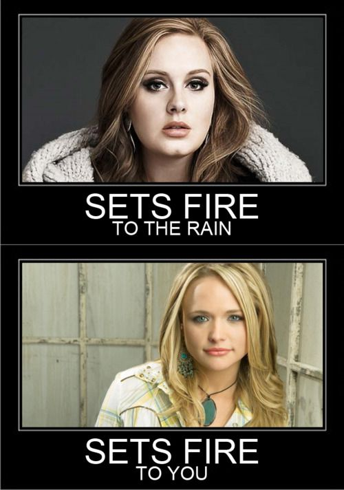 Once again, Miranda wins. ANNDDD this is just one of the many reasons I love country music