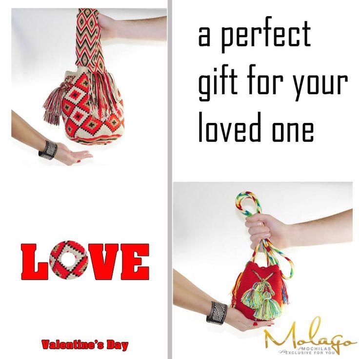 """Denkt dran, am 14. Februar ist Valentinstag. Überrascht eure liebste doch mal mit einem außergewöhnlichen und einzigartigen Geschenk. Zu dieser Gelegenheit, gibt es nochmals 10% Rabatt auf das Gesamte Sortiment. Rabattcode: """"Valentinstag"""" (Der Code ist bis zum 15.02.2015 Gültig) #Molago #Wayuu #Mochila #Taschen #Tasche #Bag #Wayuubag #Fashion #Valentinstag #Geschenke #Geschenk #Handmade #Rabatt #Gift"""