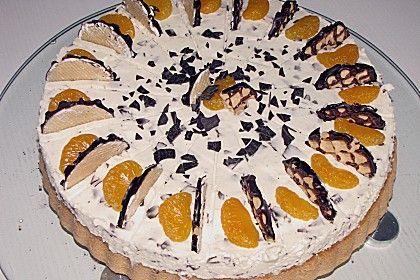 Mohrenkopftorte mit Mandarinen (Rezept mit Bild) von zuckerpuppe6264 | Chefkoch.de