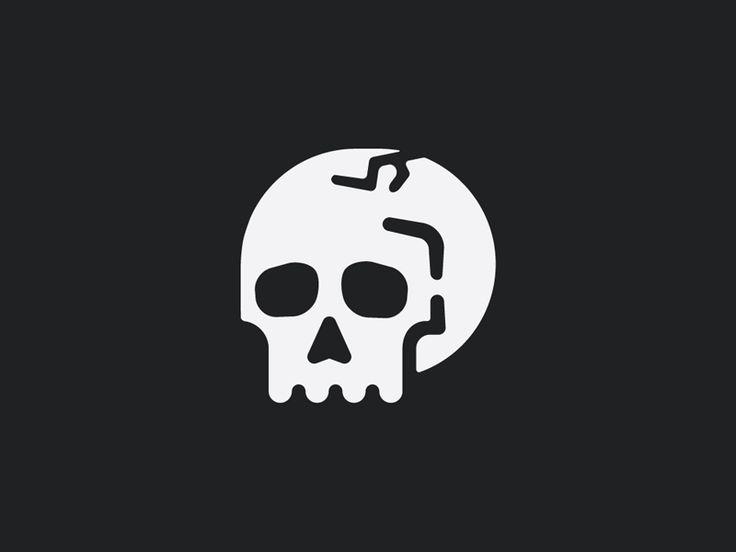 Skull Transfer by Sean Kerry #Design Popular #Dribbble #shots