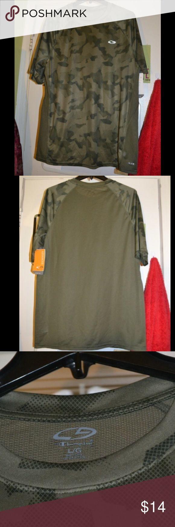 NWT Grey Champion Camo Tee Shirt Top M Perfect condition Champion Shirts Tees - Short Sleeve