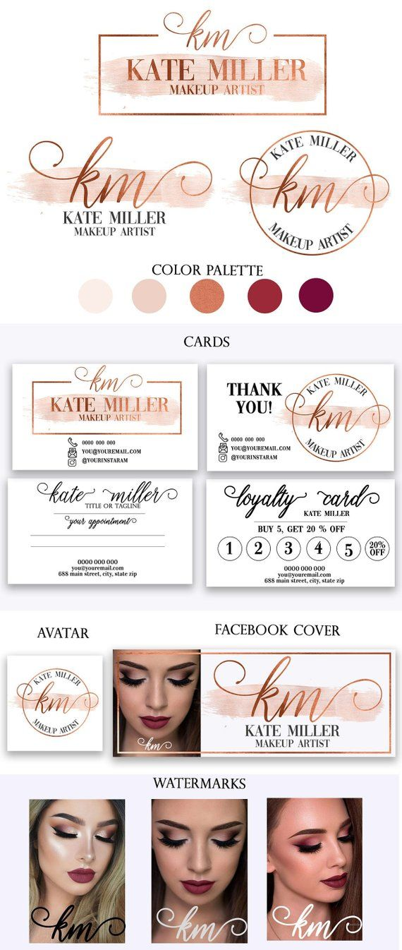 This Item Is Unavailable Etsy Makeup Artist Logo Makeup Artist Logo Design Esthetician Business Cards