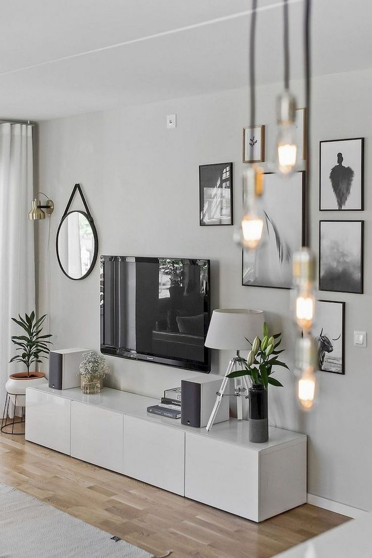 80+ Comfy Minimalist Living Room Design Ideas – #C…