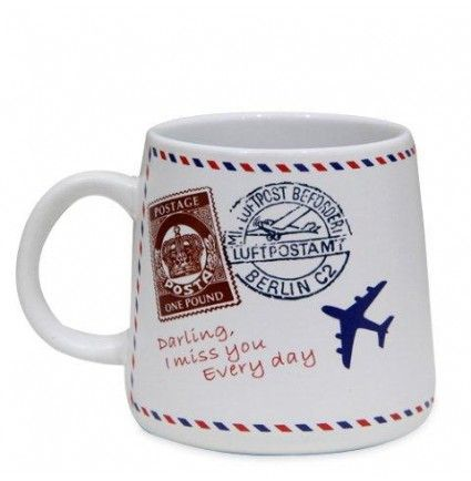 A very modish mug of 3x4 inches with a message printed on top of it which will surely convey your love on your behalf.
