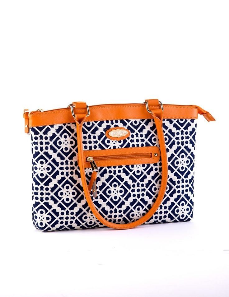 Spartina 449 Sailors Watch Laptop Bag