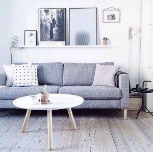 Skandynawskie wnętrze o tendencji do minimalizmu