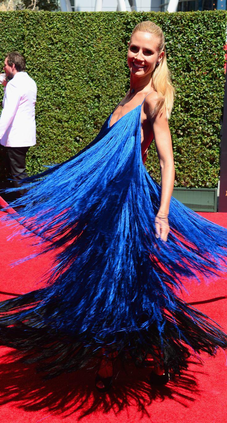 Heidi Klum's Project Runway dress.