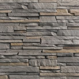 For Covering The Exterior Brick Ply Gem Stone 10 Sq Ft Tuscarora Easy Stack Stone Veneer