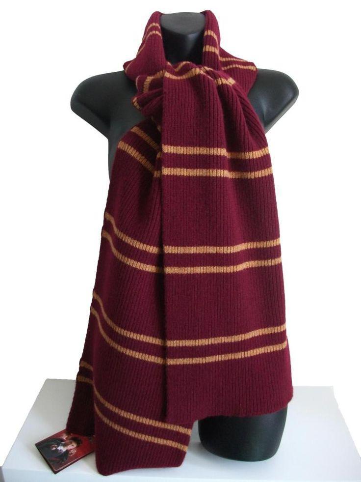 OFFICIAL WARNER BROS. HARRY POTTER GRYFFINDOR SCARF 300g