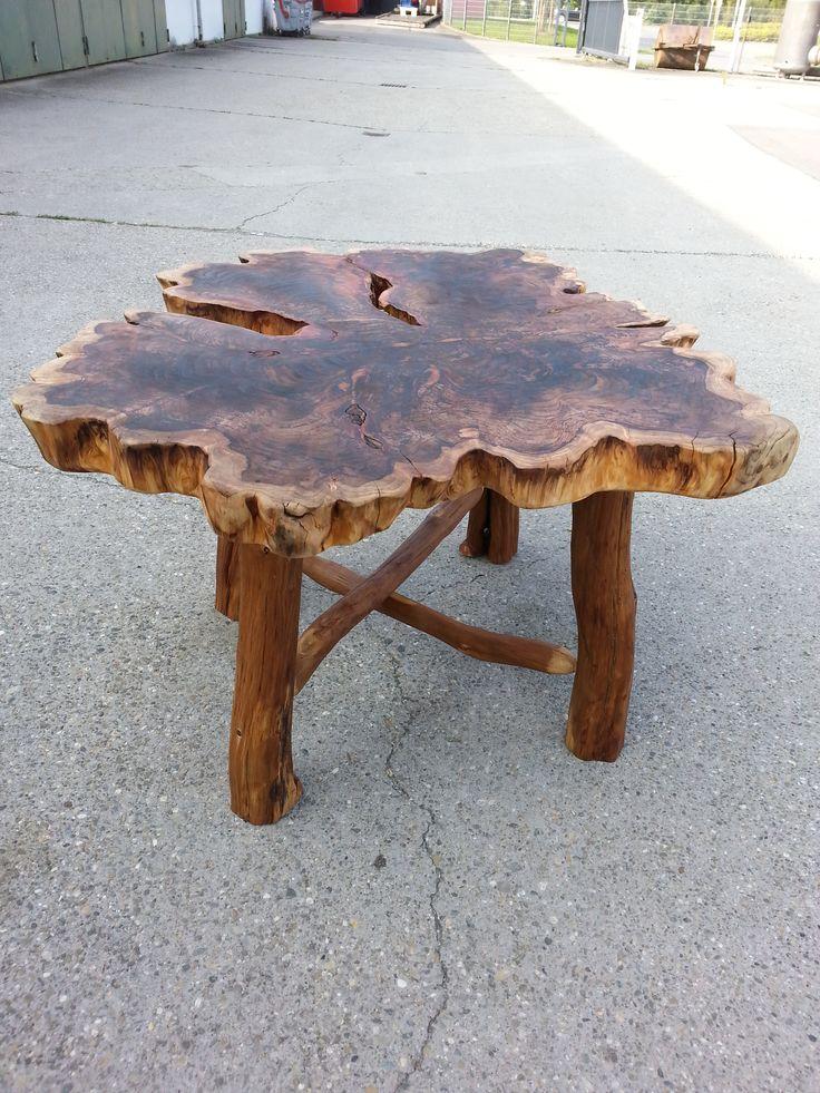 Tischplatte Urweltmammutbaum www.biber-wilholz.de
