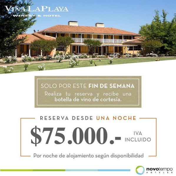 NOVOTEMPO: Disfruta de Viña La Playa #SantiagoElegante_Novotempo #HotelesChile #IslaSeca #Zapallar #HotelViñalaPlaya #ValledeColchagua #HotelPuelche #PuertoVaras