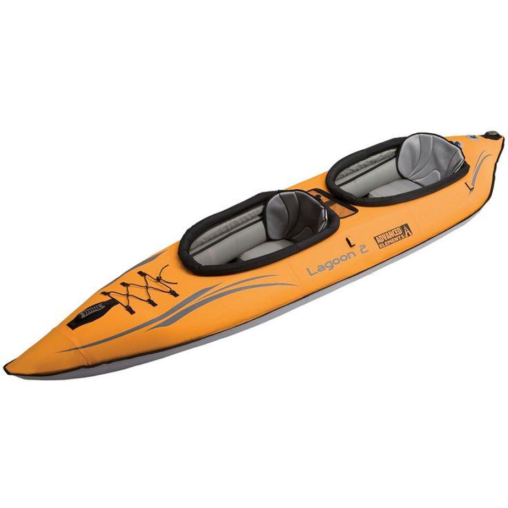 Advanced Elements Lagoon 2 Kayak - Inflatable Kayaks - Recreational Kayaks - Kayaks - Paddle :: CampSaver.com