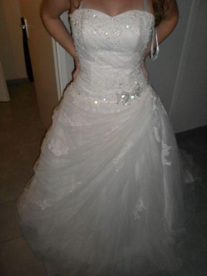 Robe de mariée miss kelly 2013 taille 40 - Gard