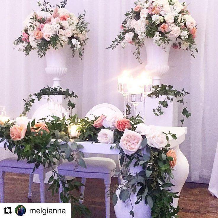 #Repost @melgianna with @repostapp ・・・ Whimsical sweetheart table 🌿 #maddyk @fleursdesjardinsbypaul