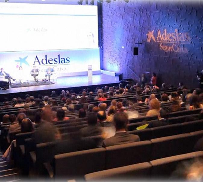 Evento para Adeslas de Advertty