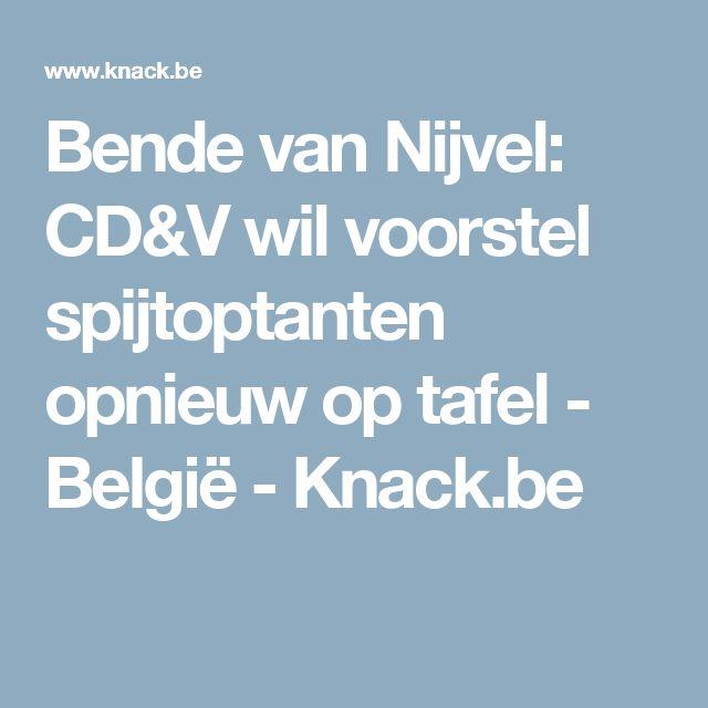 Bende van Nijvel: CD&V wil voorstel spijtoptanten opnieuw op tafel - België - Knack.be