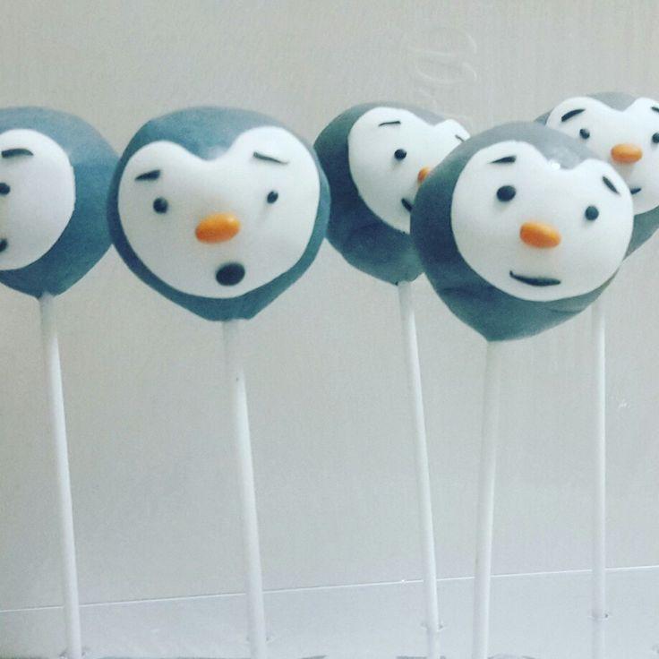 Tchoupi cake pops