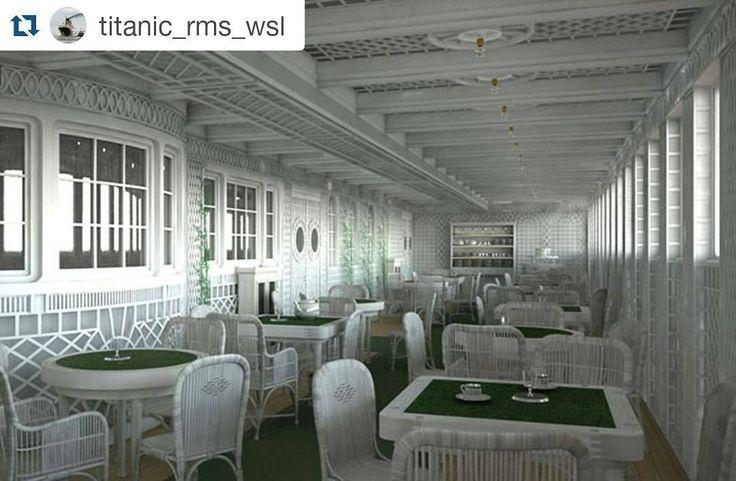 #Repost @titanic_rms_wsl with @repostapp  Café Parisien era enteramente una nueva innovación de lujo a bordo del RMS TITANIC. Grandes ventanas de  la cafetería dieron a comensales una vista del mar mientras cenan - algo que nunca antes se había hecho en un barco británico. Esta innovación fue adoptado más adelante por el RMS OLYMPIC. Hermoso!  #ships #followme #cruising #ship #boat #shipping  #barco #sea #sailboat #sail #arquitectura #yacht #yachts #luxury  #titanic  #katewinslet…