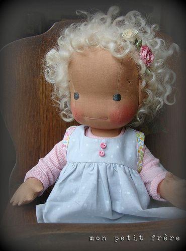 Beatrix- handmade doll by Mon Petit Frere