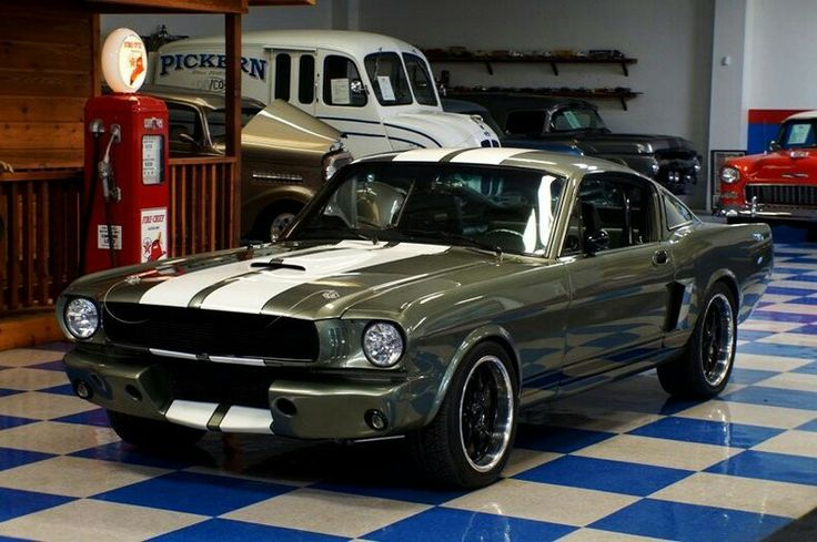 the galaxy!  Pinterest  Car Man Cave, Muscle Cars and 1965 Mustang