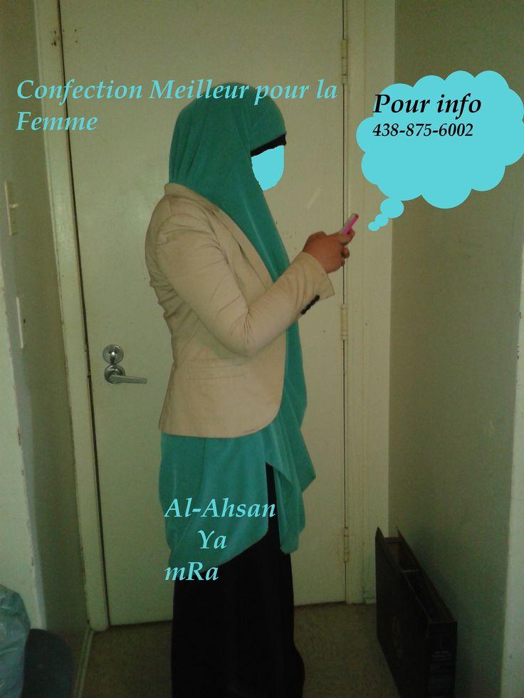 jilbab au genou